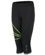 spodnie do biegania damskie 3/4 REEBOK ONE SERIES CAPRI